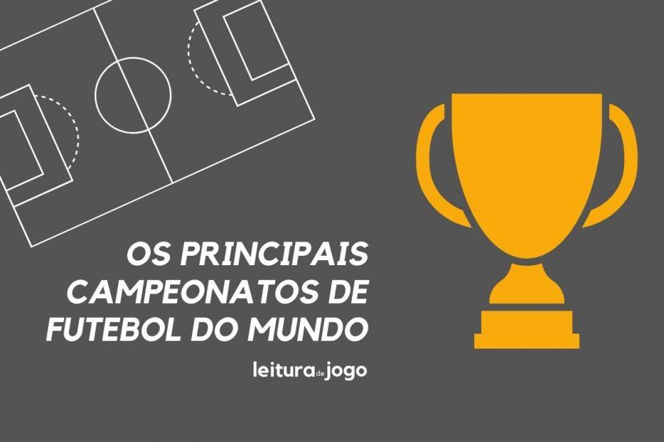 Principais campeonatos de futebol do mundo