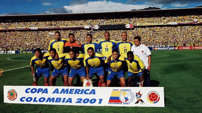 colombia time campeao copa america 2011