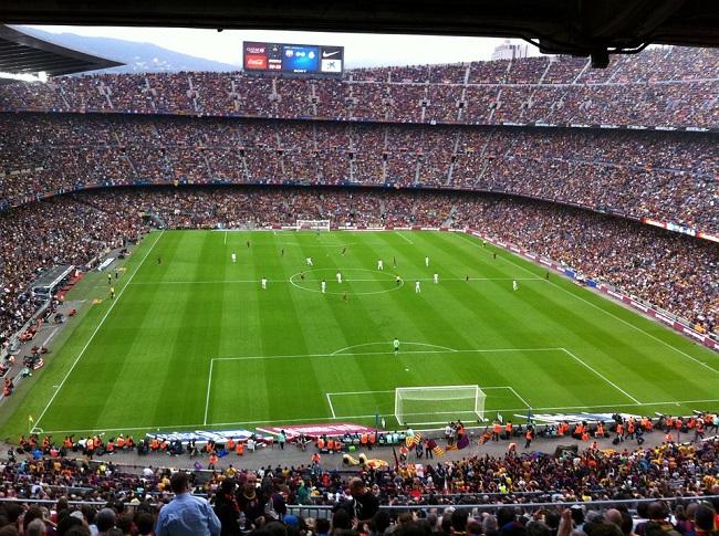 Estádio Camp Nou lotado