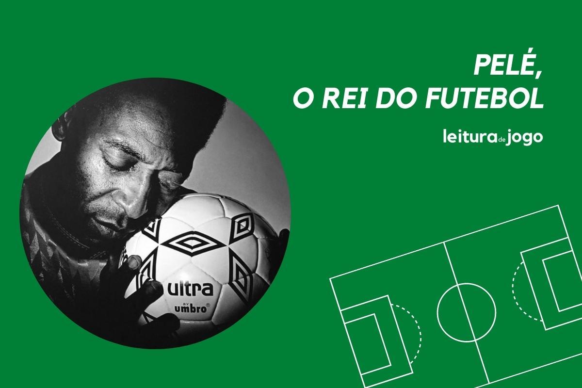 Pele, o rei do futebol.