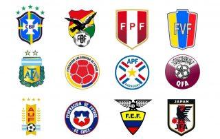 Seleções participantes da Copa América 2019