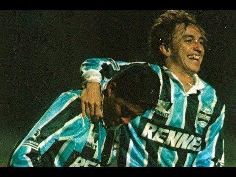 Paulo Numes e Jardel libertadores 1995