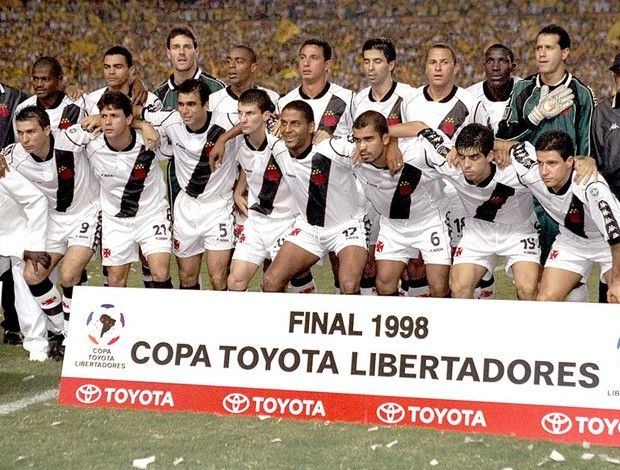 Time vasco campeao libertadores 1998