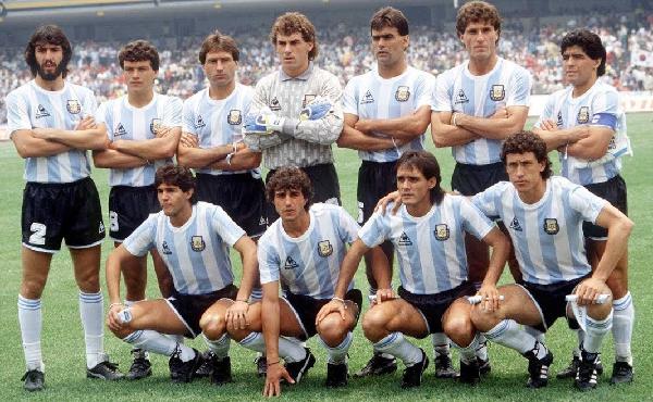 Seleção Argentina Copa do Mundo 1986