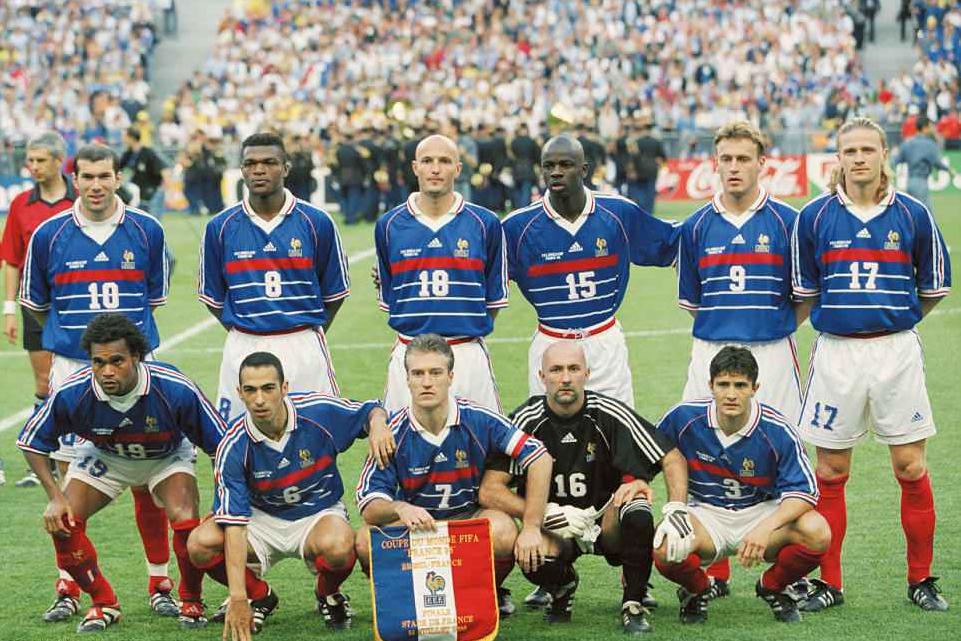 Seleção Francesa de futebol na copa do mundo de 1998