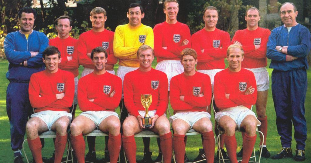 Seleção Inglesa de futebol copa de 1966