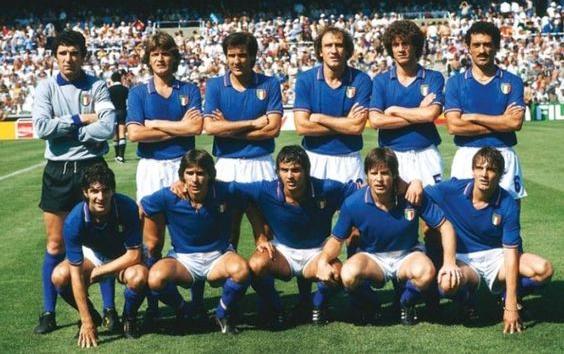 Seleção italiana de futebol na copa do mundo de 1982