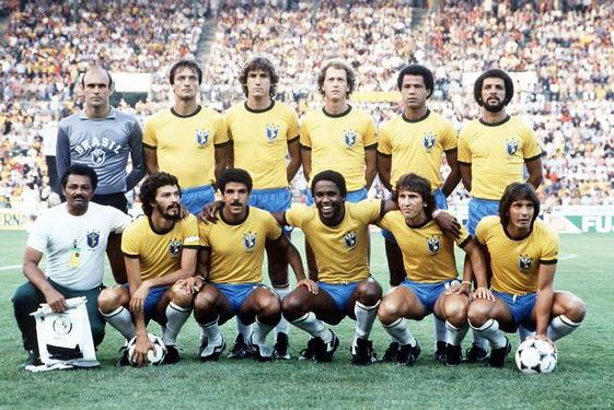Seleção brasileira na copa de 1982