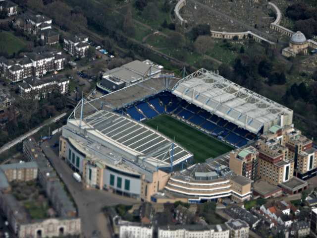 Stamford Bridge visto de cima
