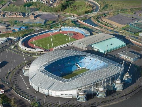 Estadio do Manchester City Etihad Stadium