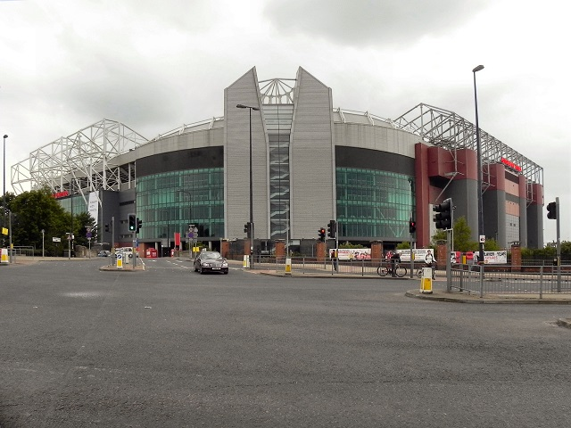 Vista do estadio Old Trafford