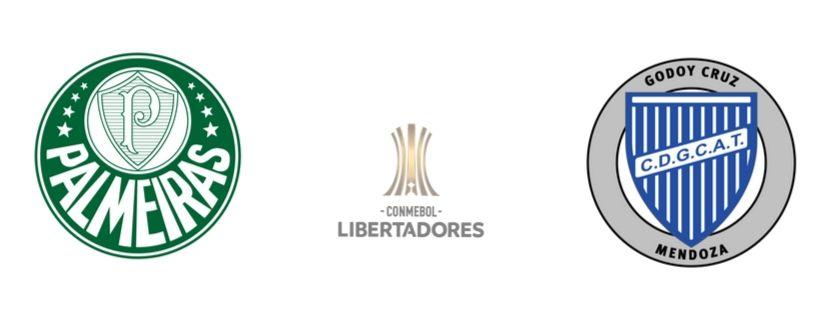 Palmeiras x Godoy Cruz - Oitavas da Libertadores 2019