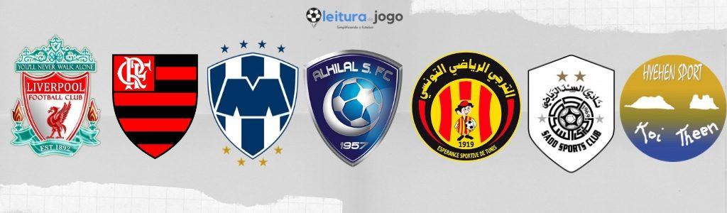 Clubes participantes mundial clubes FIFA