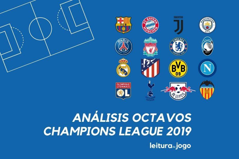 Analisis Octavos de la Champions League 2019