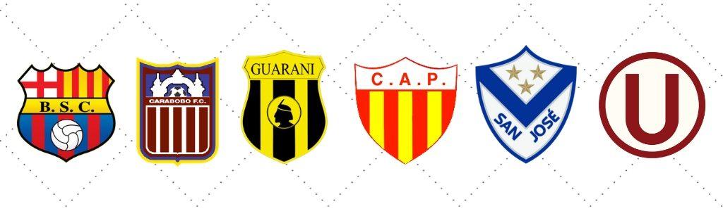 Clubes da Primeira Fase da Copa Libertadores 20200