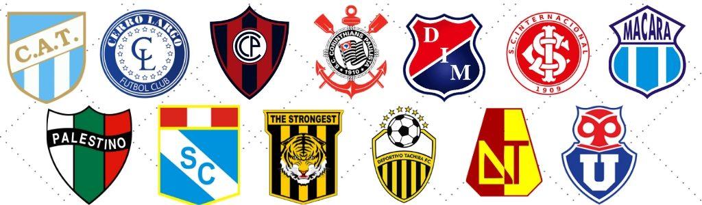 Clubes da Segunda Fase da Copa Libertadores 2020
