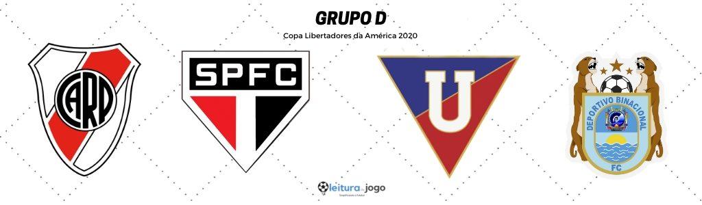 Grupo D Copa Libertadores 2020