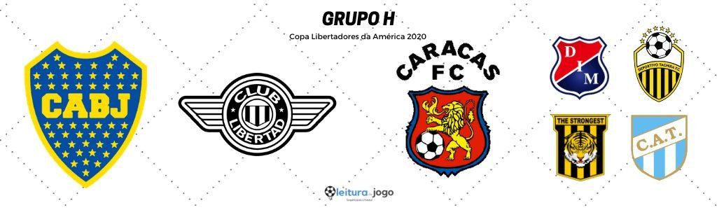 Grupo H Copa Libertadores 2020