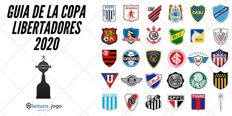 Clubes de la Copa Libertadores 2020