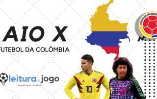 Raio X do futebol da Colombia