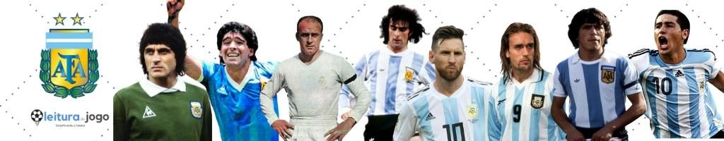 Maiores jogadores da historia da Argentina