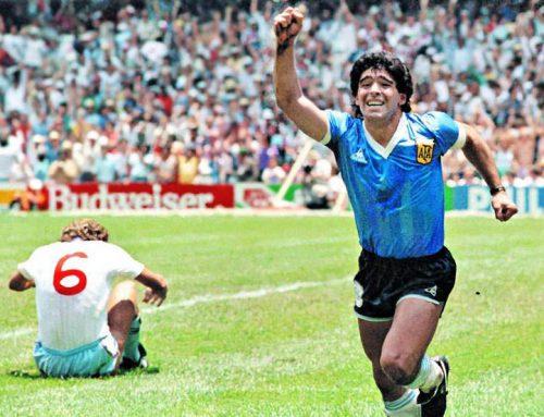 Diego Maradona, o deus do futebol