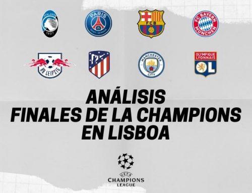 Análisis Finales Champions League 2019-20