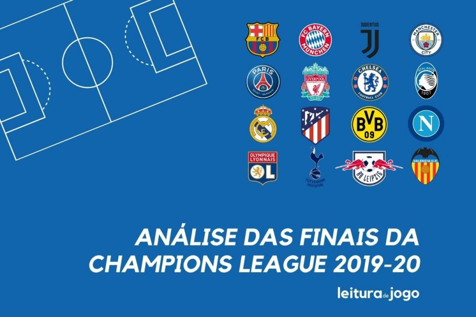 Analise das finais da Champions League