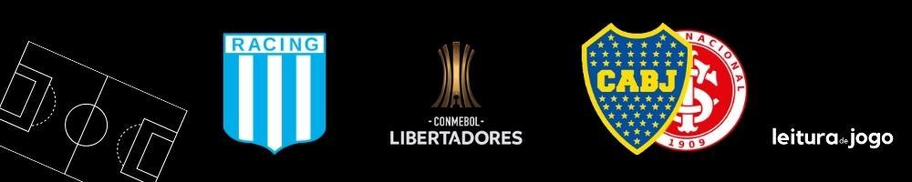 Racing x Boca Juniors ou Internacional