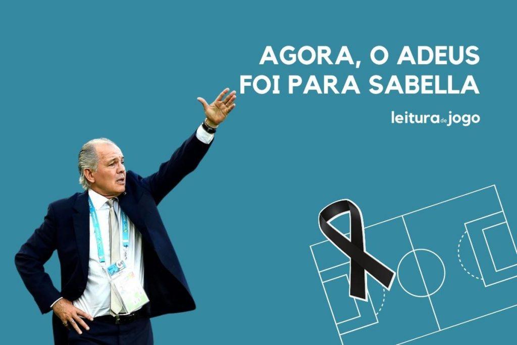 Agora, o adeus foi para Alejandro Sabella