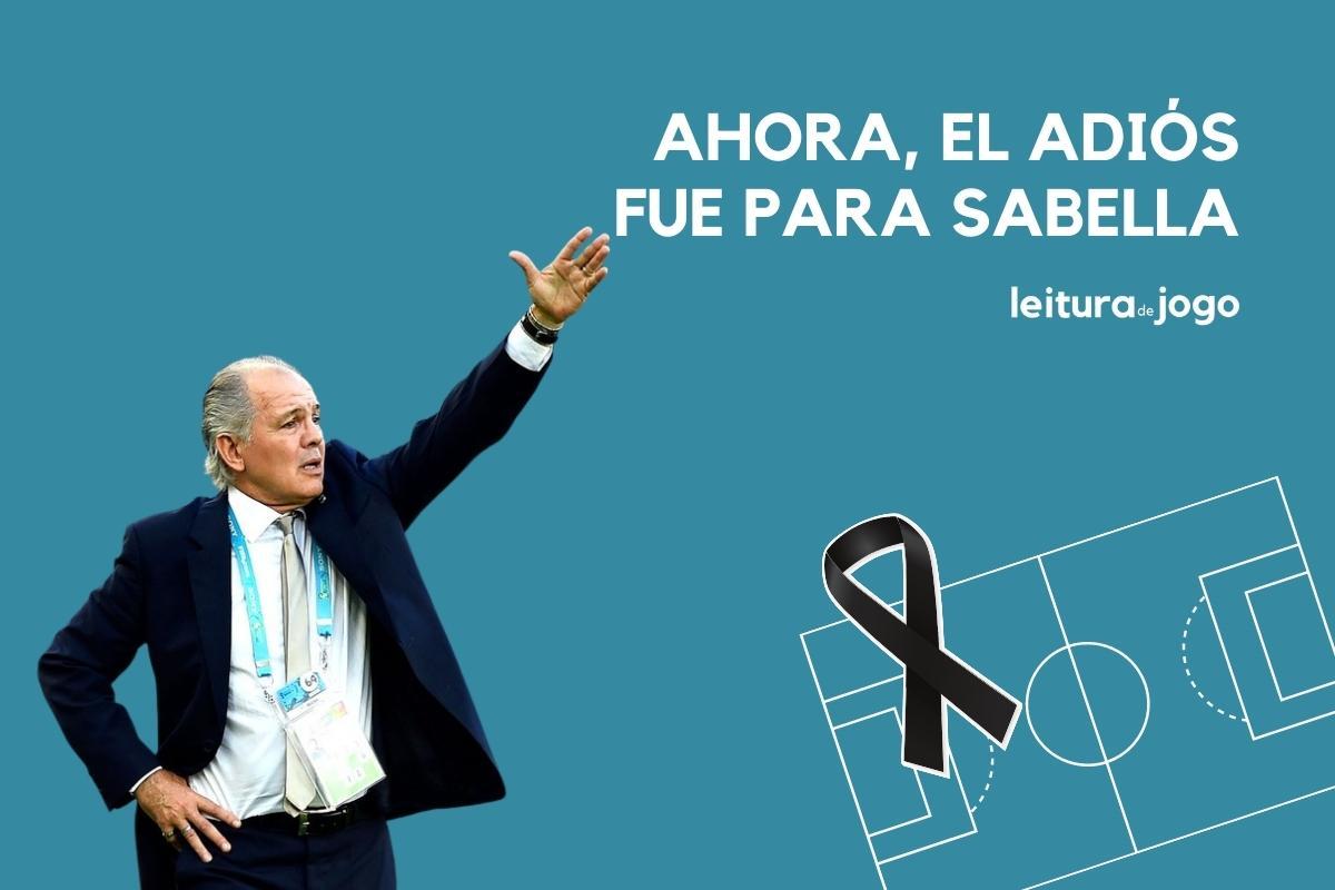 El adiós para Alejandro Sabella