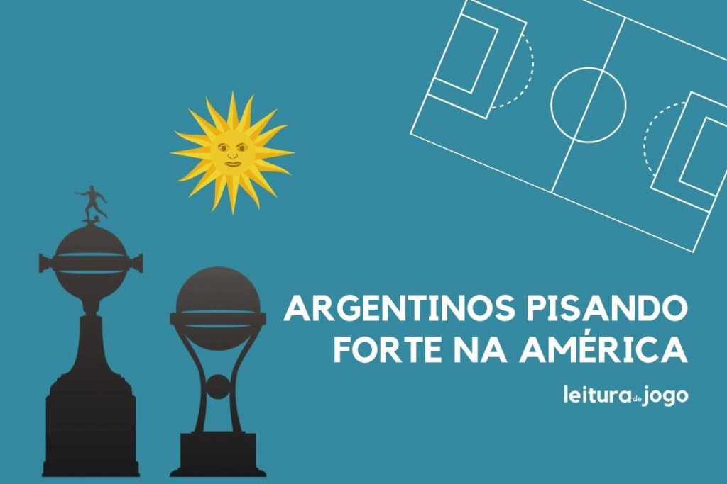 Argentinos pisando forte na América