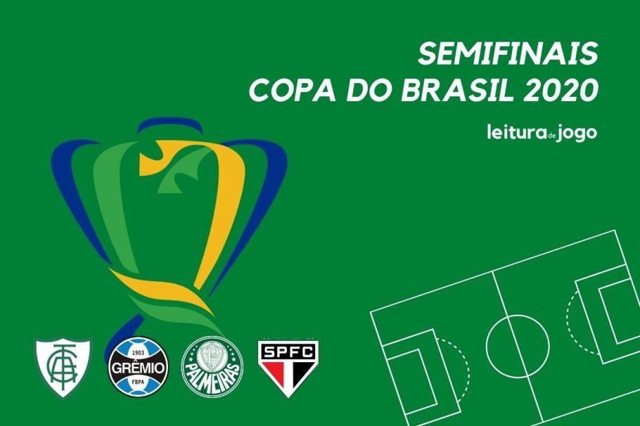 América MG, Grêmio, Palmeiras e São Paulo, semifinalistas da Copa do Brasil