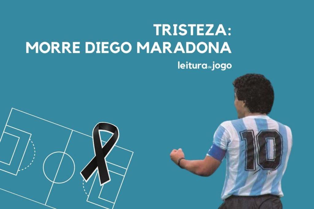 Tristeza: morre Diego Maradona
