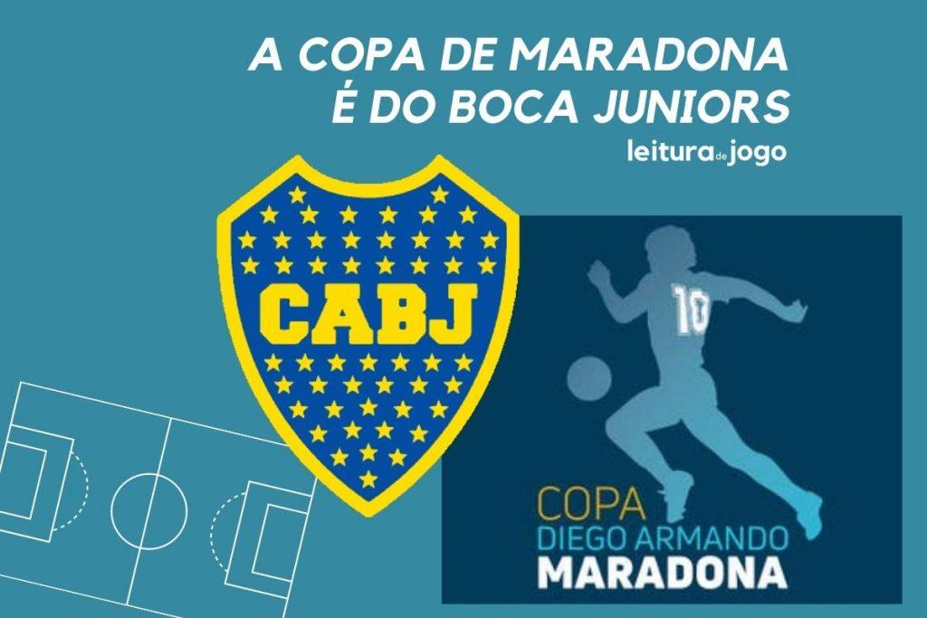 A Copa do maradona é do Boca Juniors