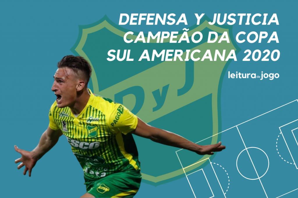Defensa y Justicia Campeão da Copa sul Americana 2020