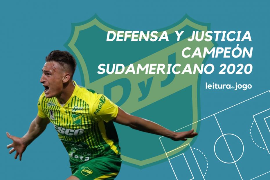 Defensa y Justicia campeón sudamericana 2020