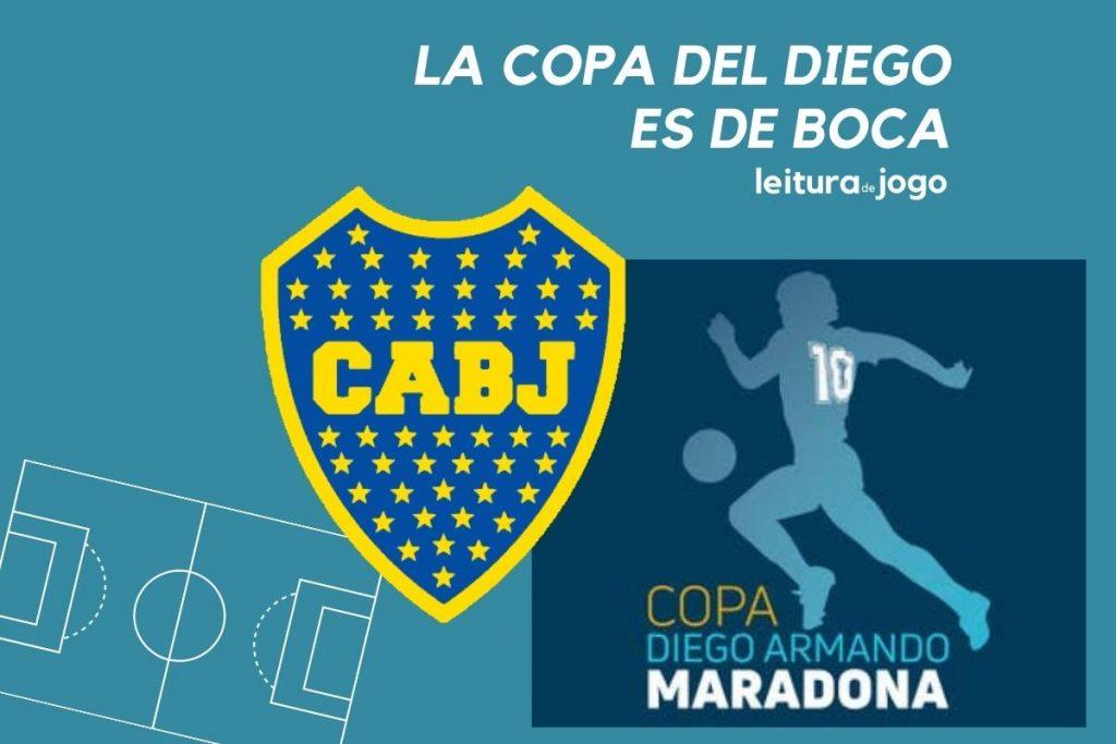 La copa del Diego es de Boca
