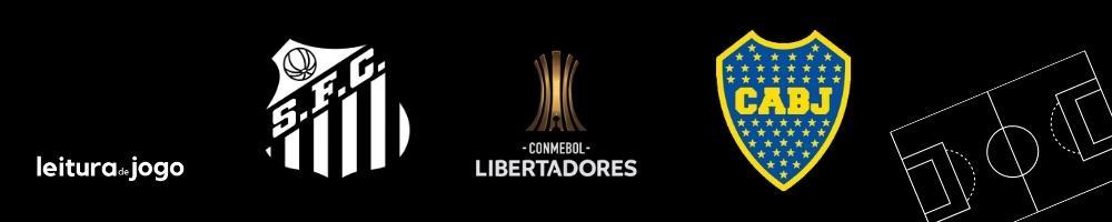 Santos x Boca Juniors - Semifinais da Copa Libertadores 2020