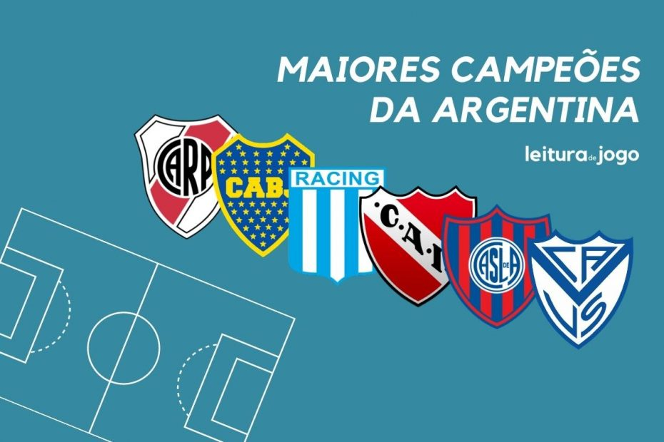 Maiores campeões da Argentina