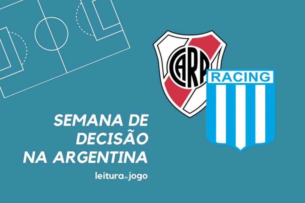 River Plate e Racing decidem a Supercopa da Argentina