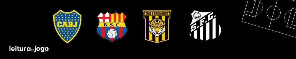 Clubes do Grupo C da Copa Libertadores 2021