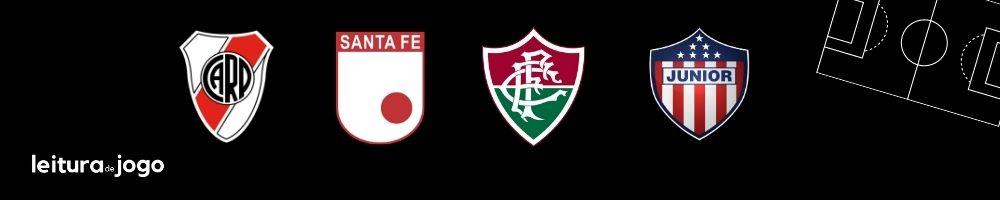 Clubes do Grupo D da Copa Libertadores 2021