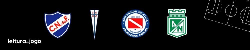Clubes do Grupo F da Copa Libertadores 2021