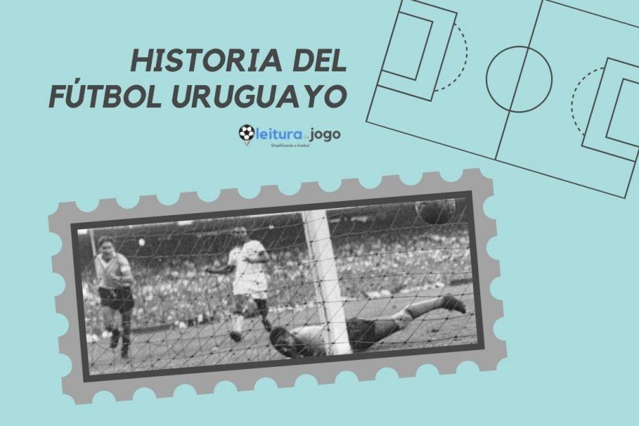 Foto del gol de Uruguay contra Brasil en la final de la Copa de 1950