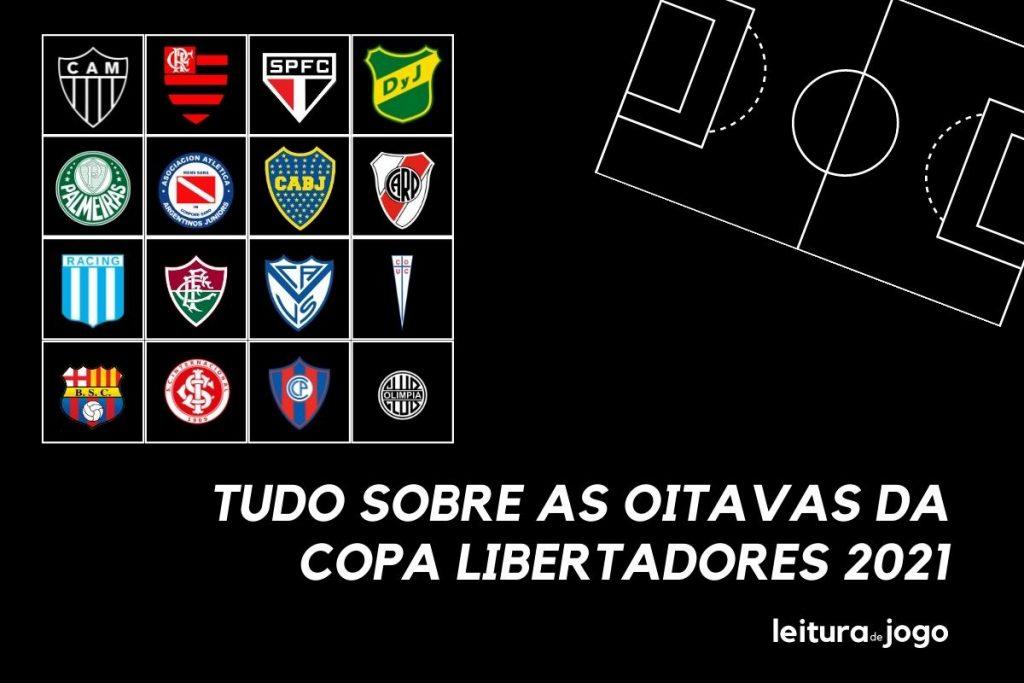 Classificados e Sorteio: tudo sobre as oitavas da Libertadores 2021
