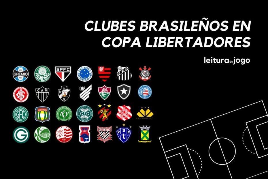 Clubes brasileños en copa libertadores